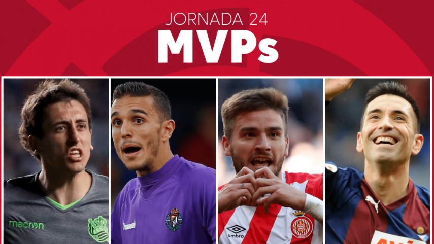 Elige al MVP de la jornada 24 de LaLiga Santander