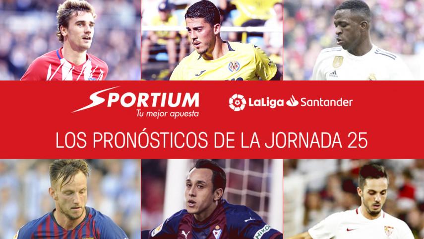 Los pronósticos de la jornada 25 de LaLiga Santander