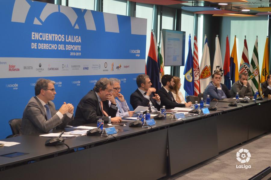 La sede de LaLiga acoge el 6º Encuentro LaLiga de Derecho del Deporte 2018-2019