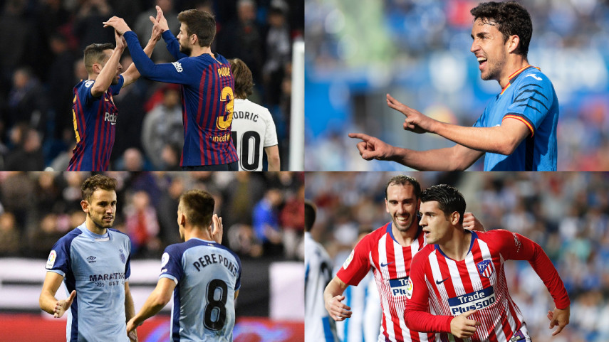 LaLiga Santander Matchday 26 in Numbers