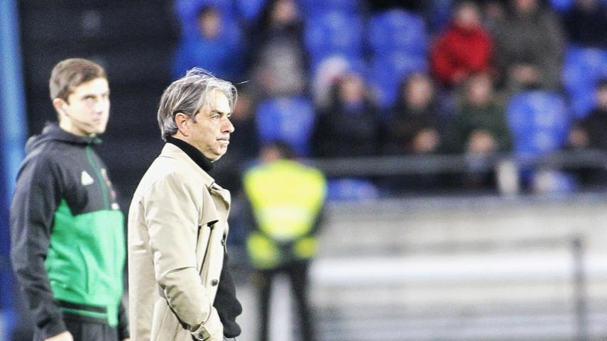 Natxo González no continuará como entrenador del RC Deportivo