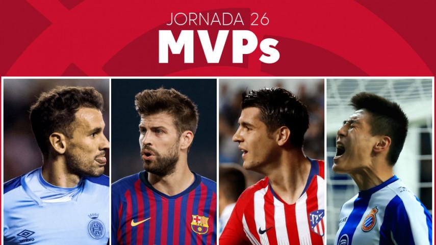 Elige al MVP de la jornada 26 de LaLiga Santander