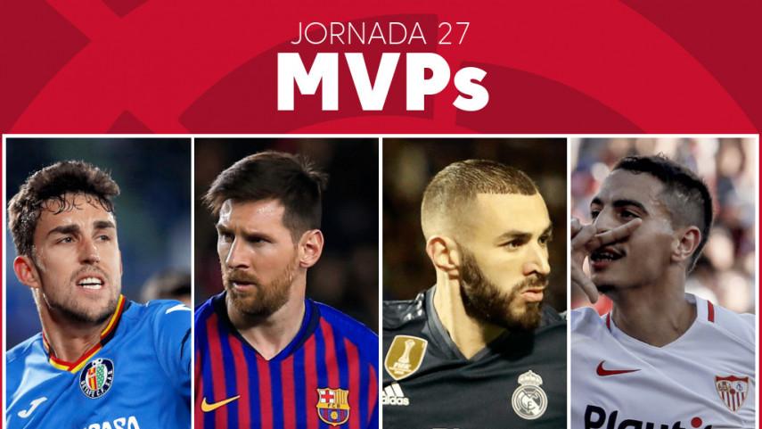 Elige al MVP de la jornada 27 de LaLiga Santander