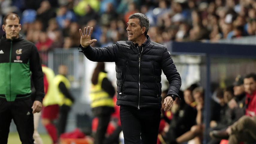 Muñiz deja de ser entrenador del Málaga CF
