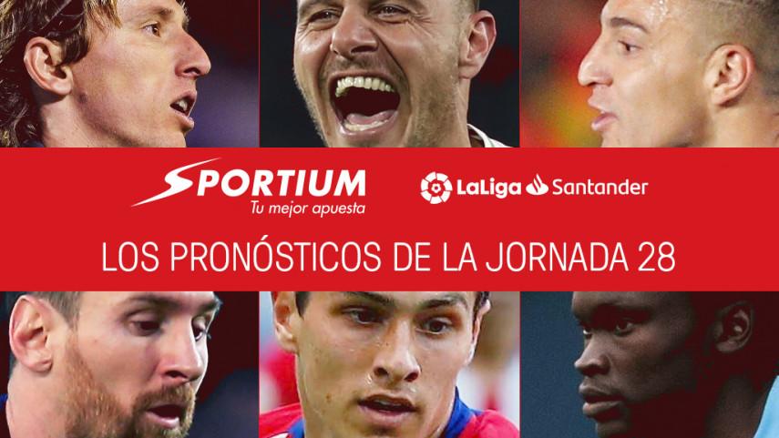 Los pronósticos de la jornada 28 de LaLiga Santander