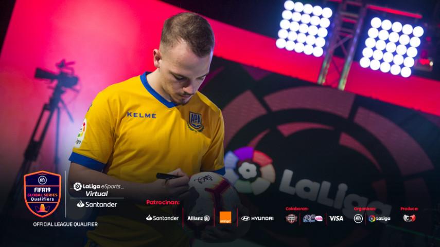 DanielAguilar4, del AD Alcorcón, recupera la corona del 'King of the Hill' del Virtual LaLiga eSports Santander