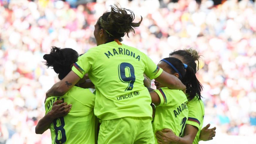 El FC Barcelona, a por las semifinales