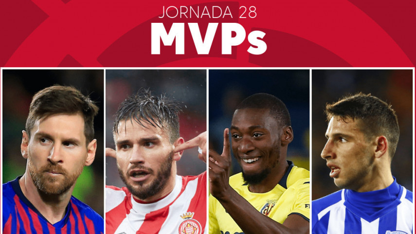 Elige al MVP de la jornada 28 de LaLiga Santander