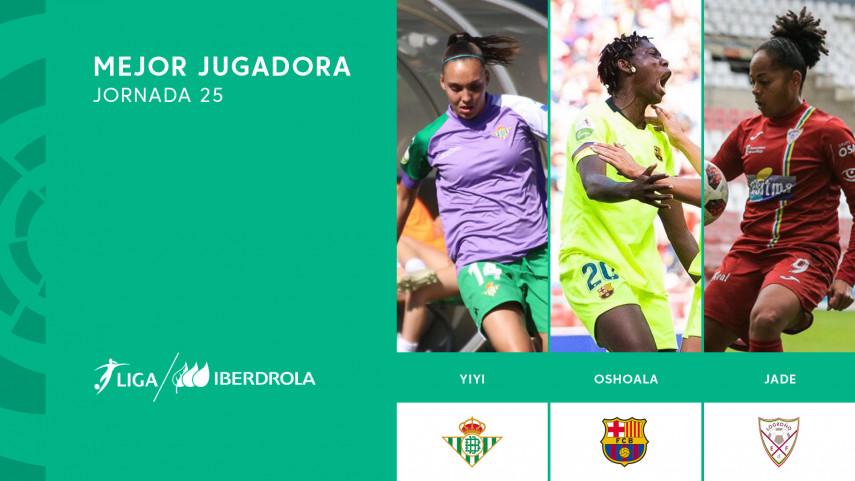 ¿Quién fue la mejor jugadora de la jornada 24 de la Liga Iberdrola?