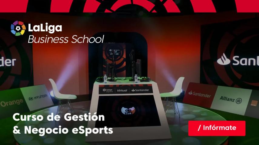 LaLiga Business School presenta el Curso de Gestión & Negocio eSports