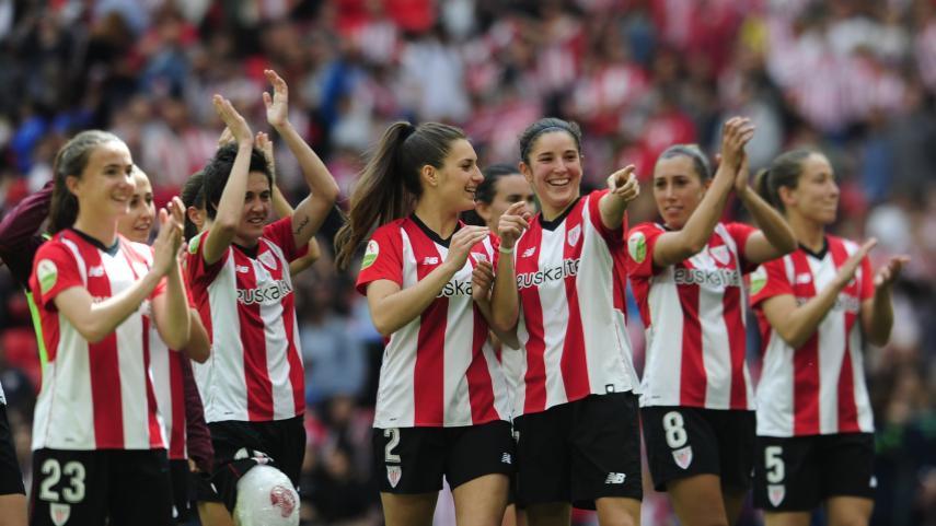 Vanesa Gimbert le da los tres puntos al Athletic en San Mamés