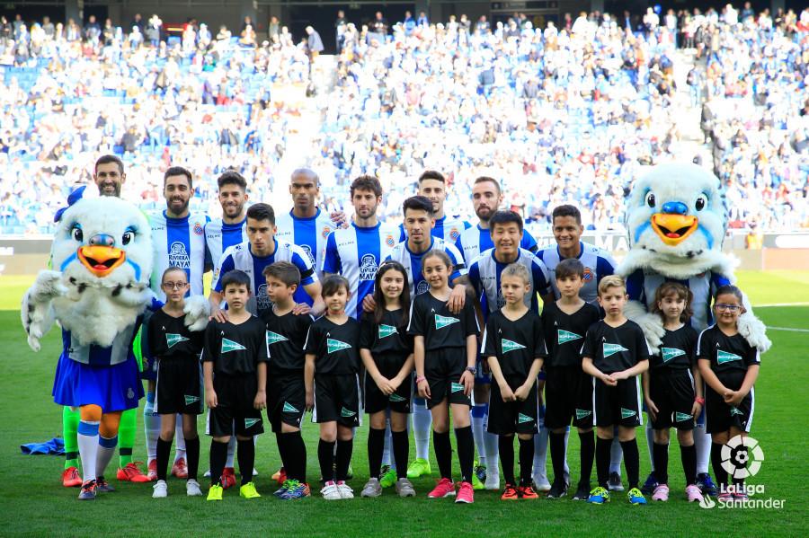 Once inicial del Espanyol este domingo (Foto: LaLiga).