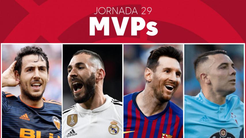 Elige al MVP de la jornada 29 de LaLiga Santander