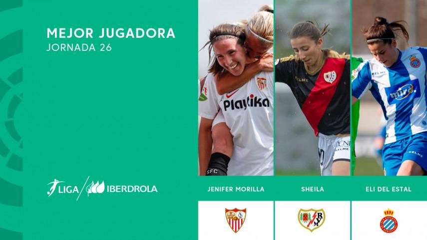 ¿Quién fue la mejor jugadora de la jornada 26 de la Liga Iberdrola?