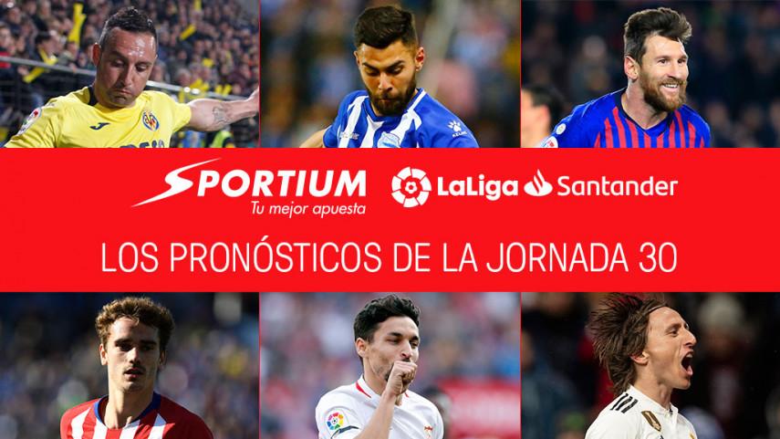 Los pronósticos de la jornada 30 de LaLiga Santander