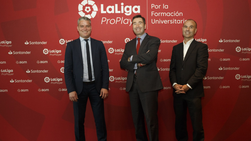 Entrenadores de universidades estadounidenses siguen en Madrid a futbolistas de LaLiga ProPlayer