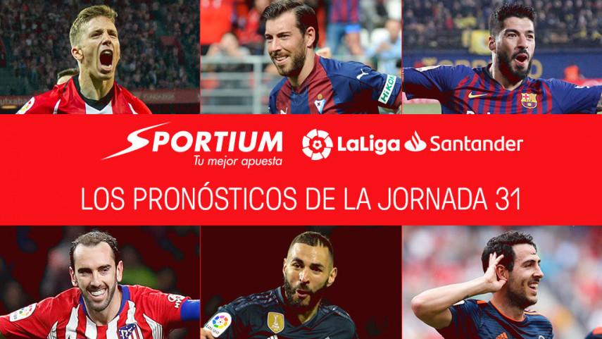 Los pronósticos de la jornada 31 de LaLiga Santander