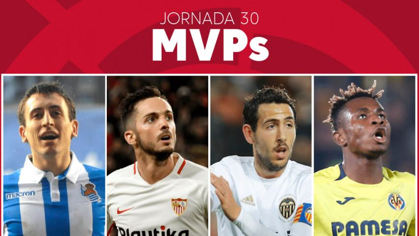 Elige al MVP de la jornada 30 de LaLiga Santander