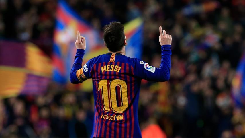 Messi, el líder del líder de LaLiga Santander 2018/19