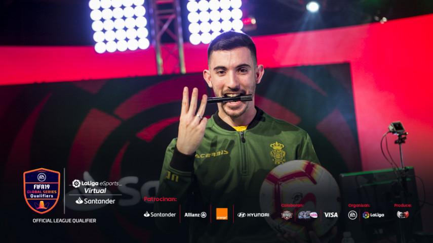 Triple Virtual LaLiga eSports Santander crown for UD Las Palmas' Zidane 10