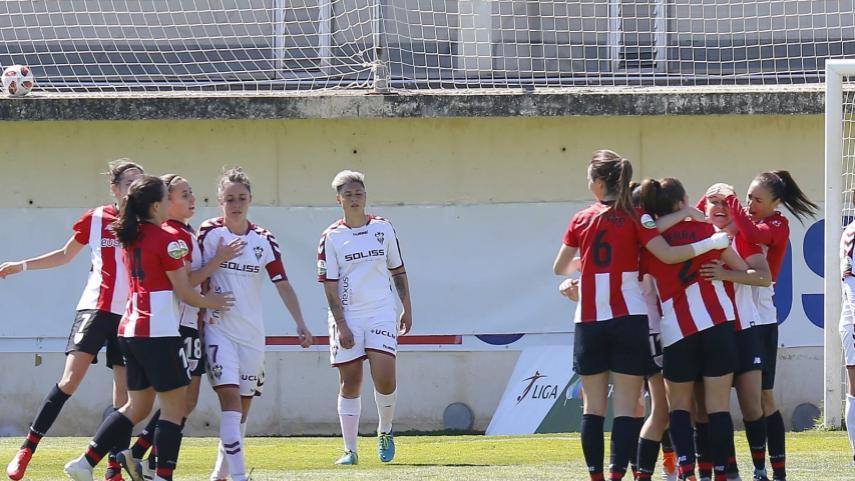 Nerea afianza al Athletic en la cuarta plaza de la Liga Iberdrola