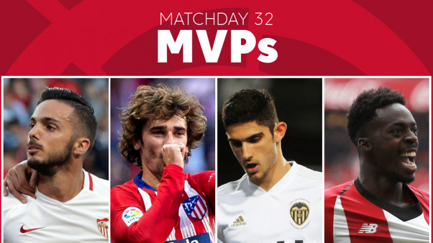 Vote for the MVP of Matchday 32 in LaLiga Santander