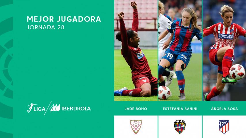 ¿Quién fue la mejor jugadora de la jornada 28 de la Liga Iberdrola?