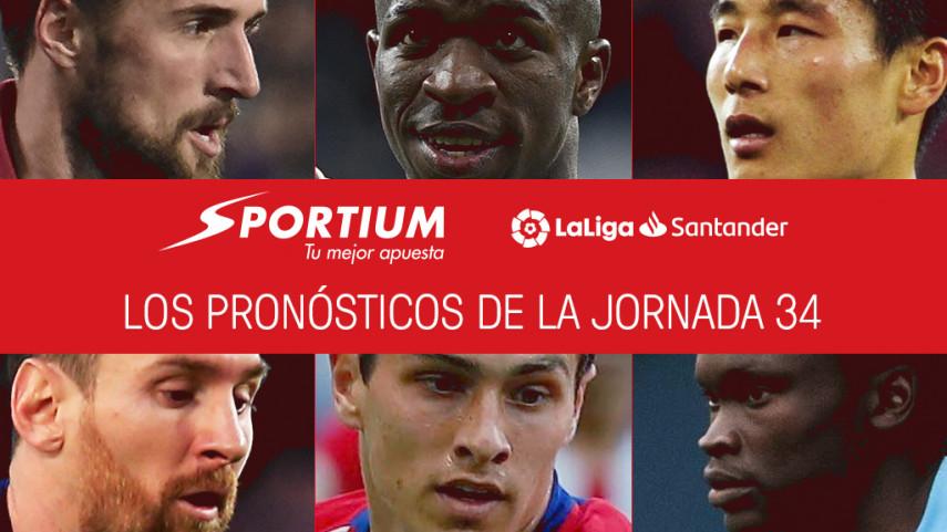 Los pronósticos de la jornada 34 de LaLiga Santander