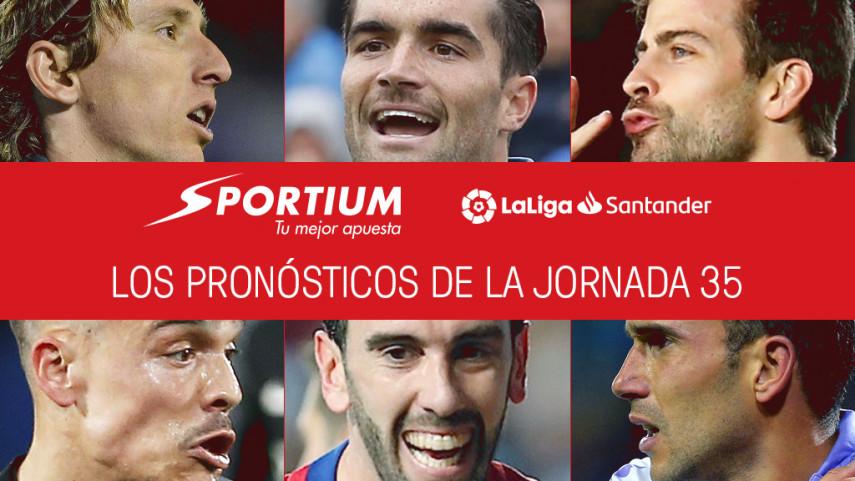 Los pronósticos de la jornada 35 de LaLiga Santander