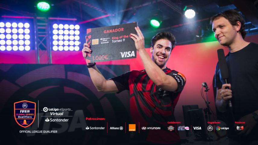 JraLion10 se proclama 'King of the Hill' en el último open del Virtual LaLiga eSports Santander