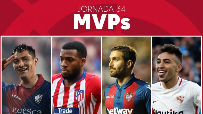 Elige al MVP de la jornada 34 de LaLiga Santander