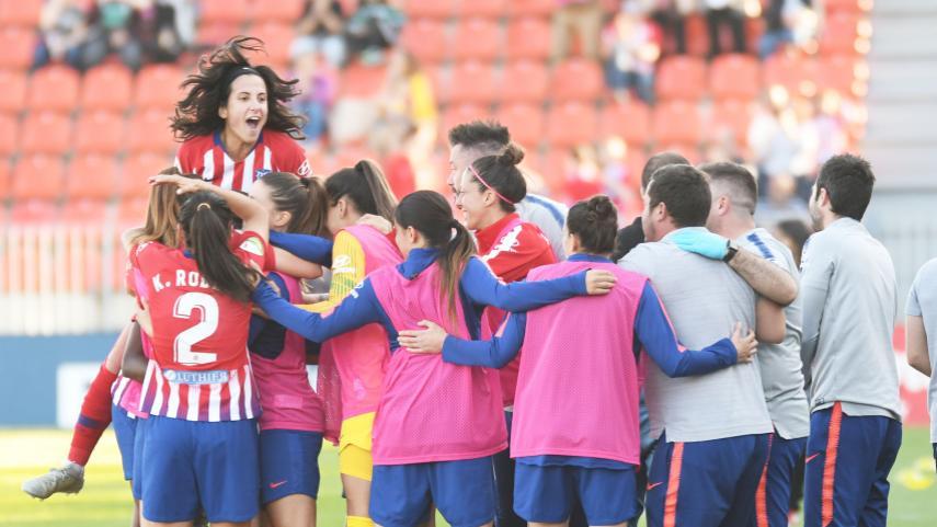 Hegemonía rojiblanca, tercera Liga Iberdrola consecutiva del At. Madrid Femenino