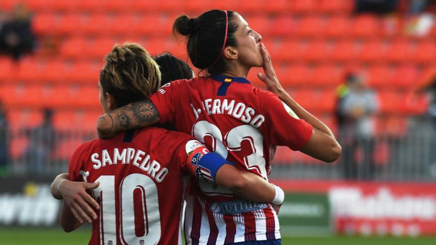 El At. Madrid Femenino, a un paso de su tercer título consecutivo de la Liga Iberdrola