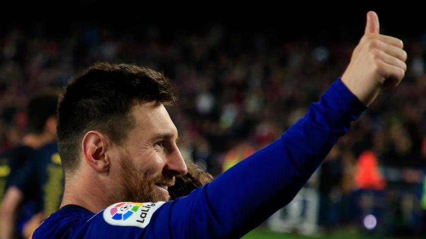 Todo el mundo habla de Messi y del título blaugrana