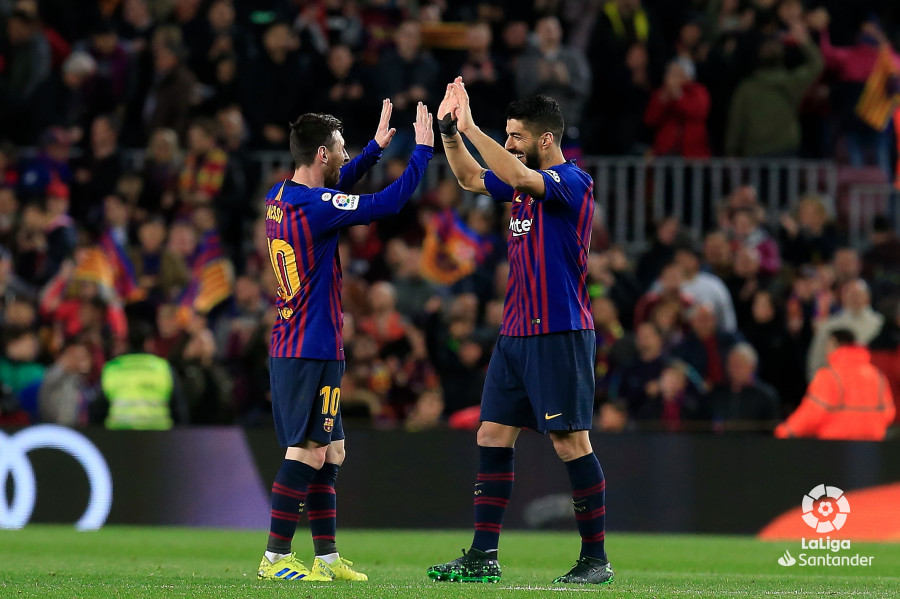Messi y Suárez marcaron ante el Atlético (Foto: LaLiga).