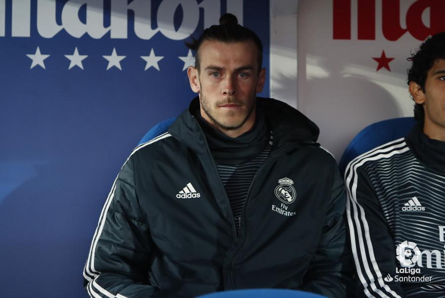 Bale, suplente en Butarque (Foto: LaLiga).
