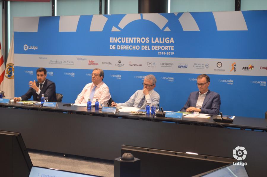 La FUNDACIÓN LaLiga organiza el 8º Encuentro LaLiga de Derecho del Deporte 2018-2019