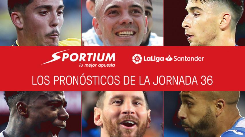 Los pronósticos de la jornada 36 de LaLiga Santander