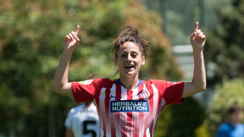 El At. Madrid Femenino vence a la Real Sociedad y es el nuevo campeón de la Liga Iberdrola