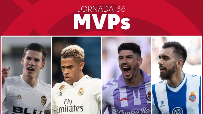 Elige al MVP de la jornada 36 de LaLiga Santander