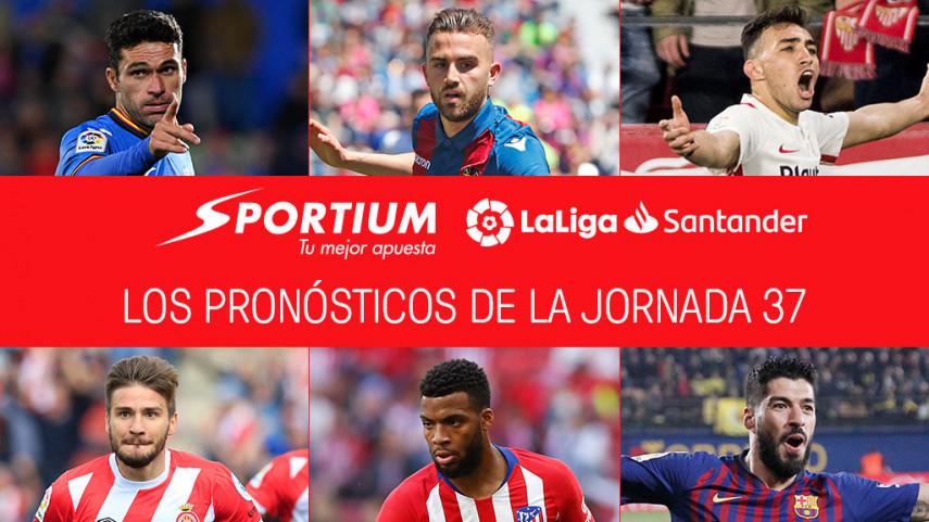 Los pronósticos de la jornada 37 de LaLiga Santander