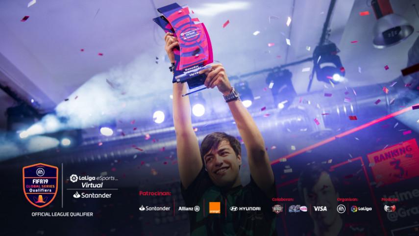 Gravesen se proclama campeón del Virtual LaLiga eSports Santander