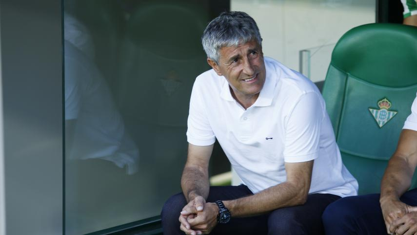 Quique Setién deja de ser el entrenador del R. Betis