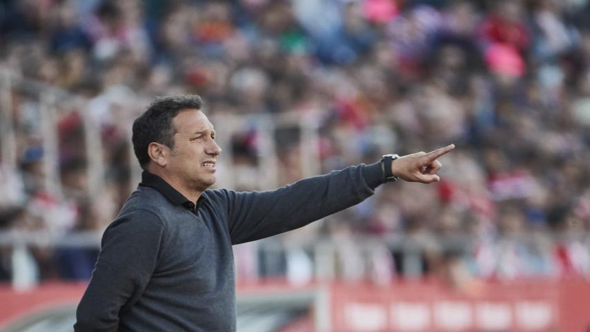Eusebio Sacristán no continuará como entrenador del Girona