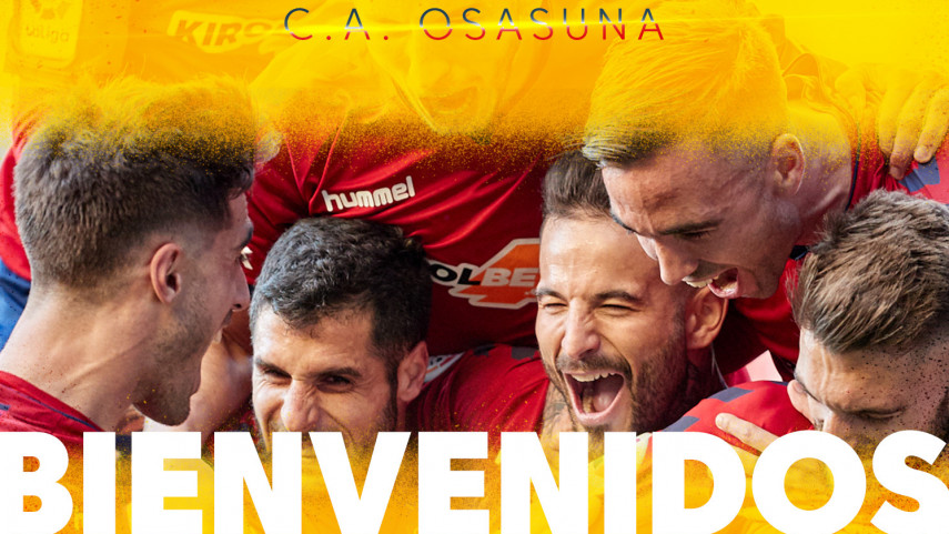 Osasuna vuelve a LaLiga Santander