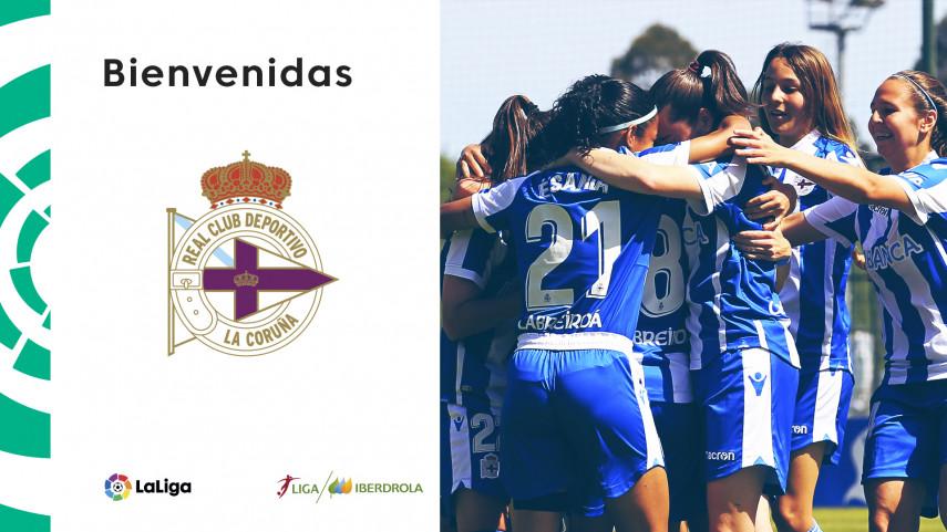 El RC Deportivo Abanca asciende a la Liga Iberdrola