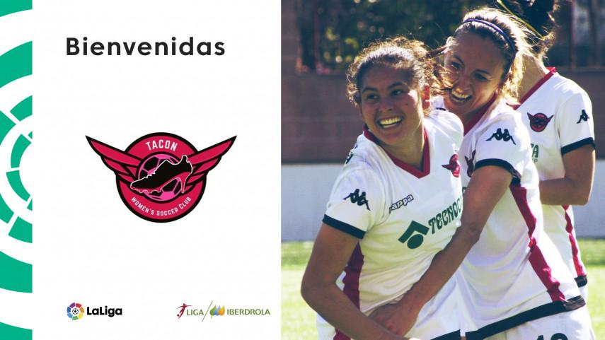 El CD Tacón, nuevo equipo de la Liga Iberdrola