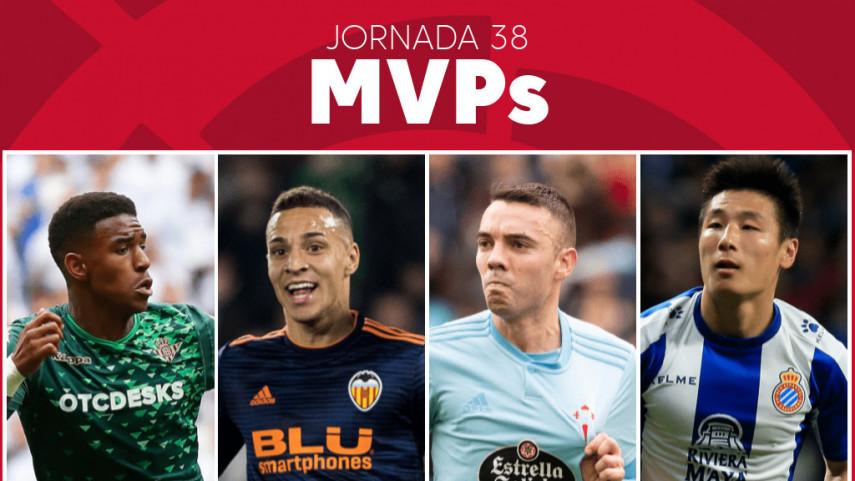 Elige al MVP de la jornada 38 de LaLiga Santander