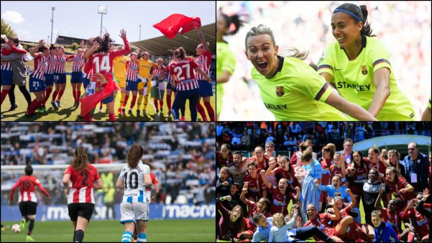 Elige el mejor momento de la temporada de la Liga Iberdrola 2018/19