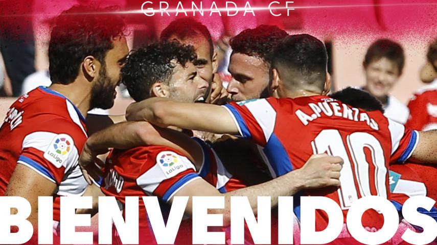 El Granada regresa a LaLiga Santander